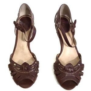 Frye Agnes Leather Sandals